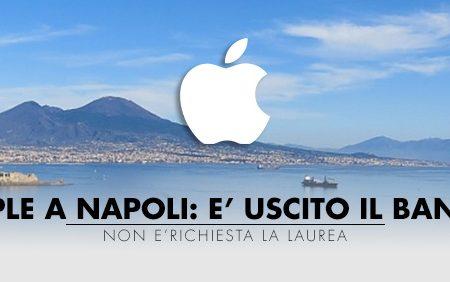 Apple a Napoli ecco il bando
