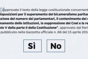 Referendum 4 dicembre 2016
