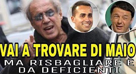 ULTIMA ORA BOMBA! La lettera di Celentano a Renzi